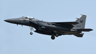 Photo ID 226487 by Marc van Zon. Singapore Air Force Boeing F 15SG Strike Eagle, 8327