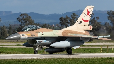 Photo ID 226463 by Thomas Ziegler - Aviation-Media. Israel Air Force General Dynamics F 16C Fighting Falcon, 345