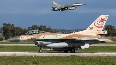Photo ID 226460 by Thomas Ziegler - Aviation-Media. Israel Air Force General Dynamics F 16C Fighting Falcon, 317