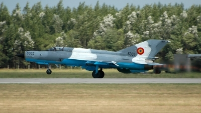 Photo ID 25817 by Radim Spalek. Romania Air Force Mikoyan Gurevich MiG 21MF 75 Lancer C, 6305