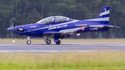 Photo ID 226491 by Alfred Koning. France Air Force Pilatus PC 21, 13