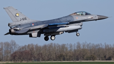 Photo ID 226547 by Rainer Mueller. Netherlands Air Force General Dynamics F 16AM Fighting Falcon, J 616