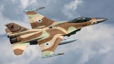 Photo ID 226549 by Thomas Ziegler - Aviation-Media. Israel Air Force General Dynamics F 16C Fighting Falcon, 345