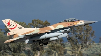 Photo ID 226550 by Thomas Ziegler - Aviation-Media. Israel Air Force General Dynamics F 16C Fighting Falcon, 341