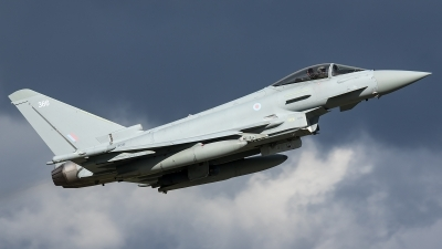 Photo ID 226582 by Thomas Ziegler - Aviation-Media. UK Air Force Eurofighter Typhoon FGR4, ZK366