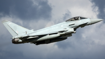 Photo ID 226583 by Thomas Ziegler - Aviation-Media. UK Air Force Eurofighter Typhoon FGR4, ZK304