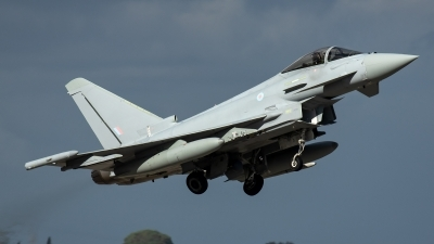 Photo ID 226589 by Thomas Ziegler - Aviation-Media. UK Air Force Eurofighter Typhoon FGR4, ZK358