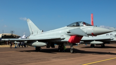 Photo ID 226620 by Thomas Ziegler - Aviation-Media. UK Air Force Eurofighter Typhoon FGR4, ZK328