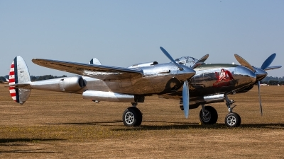 Photo ID 226559 by Thomas Ziegler - Aviation-Media. Private Red Bull Lockheed P 38L Lightning, N25Y