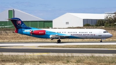 Photo ID 226598 by Redeemer Saliba. Slovakia Government Fokker 100 F 28 0100, OM BYC