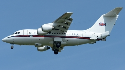 Photo ID 226615 by Klemens Hoevel. UK Air Force British Aerospace BAe 146 CC2 BAe 146 100 Statesman, ZE700