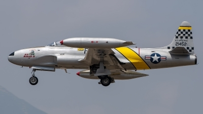 Photo ID 226672 by W.A.Kazior. Private Ace Maker Aviation LLC Canadair CT 133 Silver Star 3, N133HH