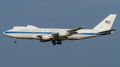 Photo ID 226705 by Stefan Schmitz. USA Air Force Boeing E 4B 747 200B, 73 1676