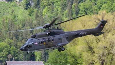 Photo ID 226814 by Sybille Petersen. Switzerland Air Force Aerospatiale AS 532UL Cougar, T 336