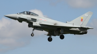Photo ID 226810 by Paul Newbold. UK Air Force Eurofighter Typhoon FGR4, ZK367