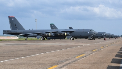 Photo ID 226820 by Lieuwe Hofstra. USA Air Force Boeing B 52H Stratofortress, 61 0012