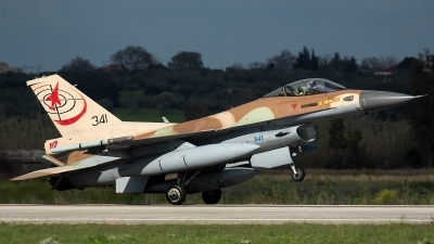 Photo ID 226830 by Thomas Ziegler - Aviation-Media. Israel Air Force General Dynamics F 16C Fighting Falcon, 341