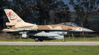 Photo ID 226829 by Thomas Ziegler - Aviation-Media. Israel Air Force General Dynamics F 16C Fighting Falcon, 307