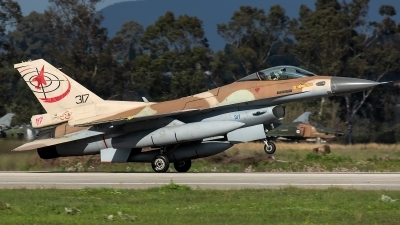 Photo ID 226828 by Thomas Ziegler - Aviation-Media. Israel Air Force General Dynamics F 16C Fighting Falcon, 317