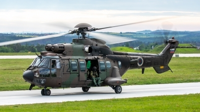 Photo ID 227058 by Thomas Ziegler - Aviation-Media. Slovenia Air Force Aerospatiale AS 532AL Cougar, H3 72