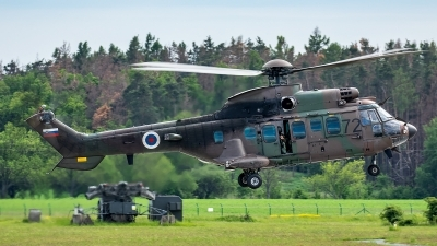 Photo ID 227059 by Thomas Ziegler - Aviation-Media. Slovenia Air Force Aerospatiale AS 532AL Cougar, H3 72
