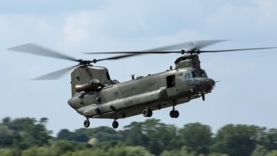 Photo ID 226924 by Thomas Ziegler - Aviation-Media. UK Air Force Boeing Vertol Chinook HC6A CH 47F, ZH891