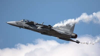 Photo ID 226925 by Thomas Ziegler - Aviation-Media. Sweden Air Force Saab JAS 39C Gripen, 39278