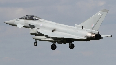 Photo ID 226899 by Paul Newbold. UK Air Force Eurofighter Typhoon FGR4, ZK308
