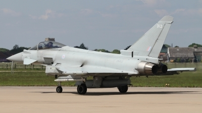 Photo ID 226900 by Paul Newbold. UK Air Force Eurofighter Typhoon FGR4, ZK312