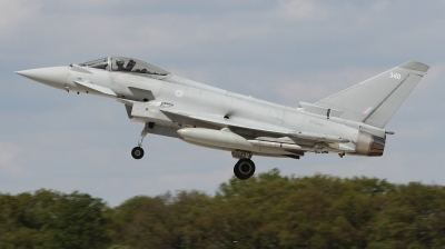 Photo ID 226974 by Paul Newbold. UK Air Force Eurofighter Typhoon FGR4, ZK348