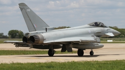 Photo ID 226973 by Paul Newbold. UK Air Force Eurofighter Typhoon FGR4, ZK348