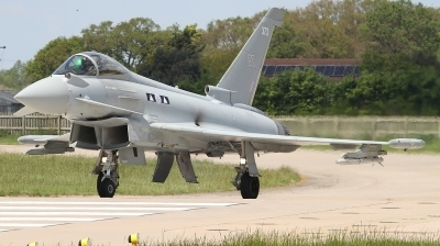 Photo ID 226903 by Paul Newbold. UK Air Force Eurofighter Typhoon FGR4, ZK372