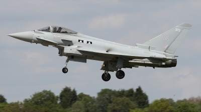 Photo ID 226904 by Paul Newbold. UK Air Force Eurofighter Typhoon FGR4, ZK372