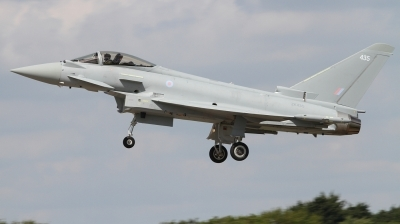 Photo ID 226917 by Paul Newbold. UK Air Force Eurofighter Typhoon FGR4, ZK435