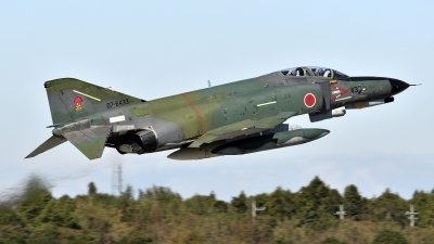 Photo ID 226986 by Tonnie Musila. Japan Air Force McDonnell Douglas RF 4EJ Phantom II, 07 6433