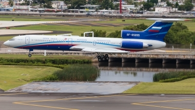 Photo ID 227103 by Hector Rivera - Puerto Rico Spotter. Russia Air Force Tupolev Tu 154M LK 1, RF 85655