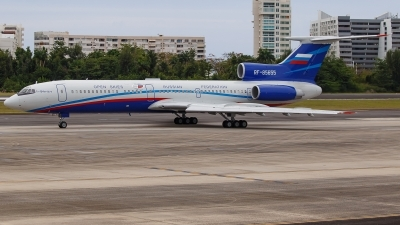 Photo ID 227104 by Hector Rivera - Puerto Rico Spotter. Russia Air Force Tupolev Tu 154M LK 1, RF 85655