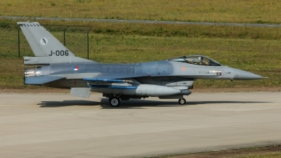 Photo ID 227164 by Rick van Engelen. Netherlands Air Force General Dynamics F 16AM Fighting Falcon, J 006