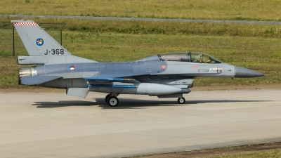Photo ID 227165 by Rick van Engelen. Netherlands Air Force General Dynamics F 16BM Fighting Falcon, J 368