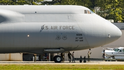 Photo ID 227267 by Aaron C. Rhodes. USA Air Force Lockheed C 5M Super Galaxy L 500, 86 0026