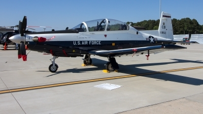Photo ID 227548 by Alfred Koning. USA Air Force Raytheon T 6A Texan II, 06 3850