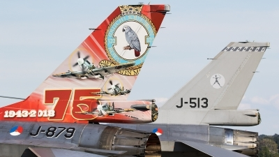 Photo ID 227336 by Walter Van Bel. Netherlands Air Force General Dynamics F 16AM Fighting Falcon, J 879