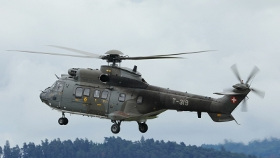 Photo ID 227545 by Sybille Petersen. Switzerland Air Force Aerospatiale AS 332M1 Super Puma, T 319