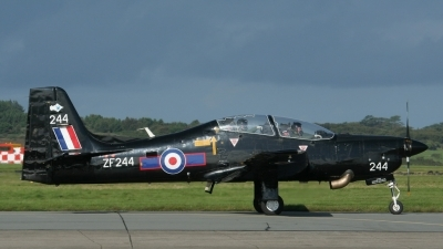 Photo ID 227383 by Sybille Petersen. UK Air Force Short Tucano T1, ZF244