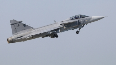 Photo ID 227350 by Milos Ruza. Czech Republic Air Force Saab JAS 39C Gripen, 9236