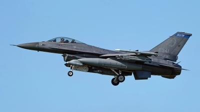 Photo ID 227379 by Dieter Linemann. USA Air Force General Dynamics F 16C Fighting Falcon, 91 0341