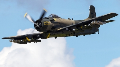 Photo ID 227526 by Aaron C. Rhodes. Private Heritage Flight Museum Douglas A 1D Skyraider AD 4N, NX965AD