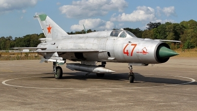 Photo ID 227389 by Mario Boeren. Russia Air Force Mikoyan Gurevich MiG 21PFM, 47 RED