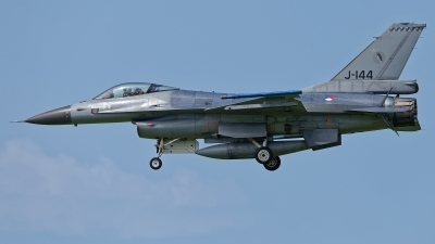 Photo ID 227506 by Rainer Mueller. Netherlands Air Force General Dynamics F 16AM Fighting Falcon, J 144