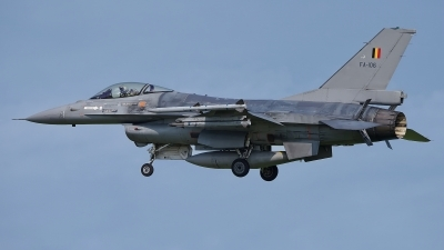 Photo ID 227507 by Rainer Mueller. Belgium Air Force General Dynamics F 16AM Fighting Falcon, FA 106